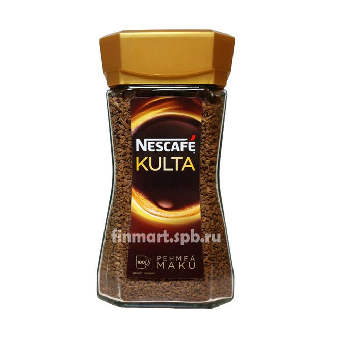 Растворимый кофе Nescafe Kulta (стекло) - 200 гр.