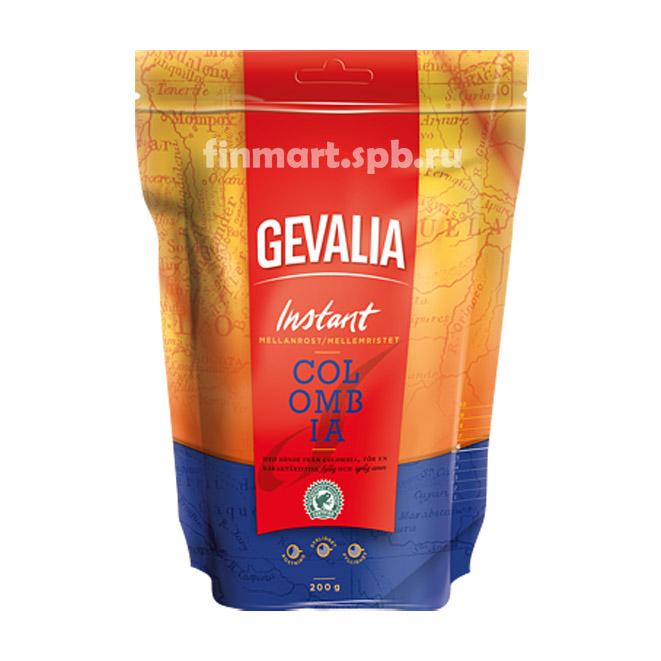 Растворимый кофе Gevalia Colombia - 200 гр.