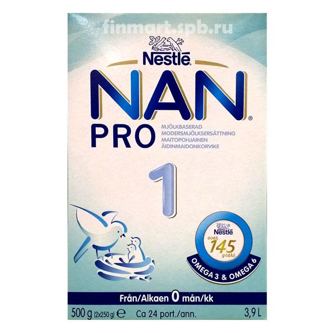 Nestle NAN 1 Pro (НАН 1) - 400 гр.