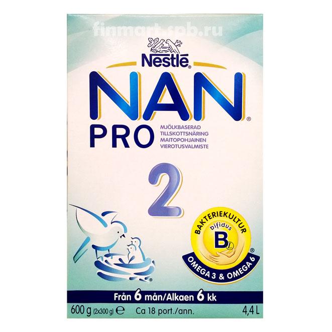 Детское питание Nestle НАН 2