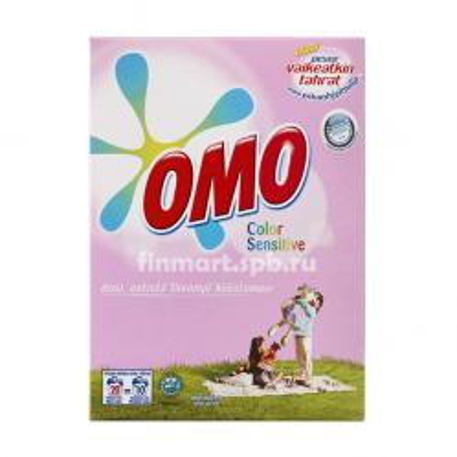 Гипоалергенный стиральный порошок ОМО Sensitive Color - 756 гр.