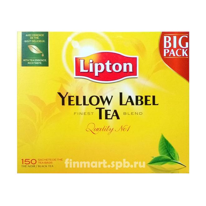 Чай Lipton Yellow Label 150 пак.