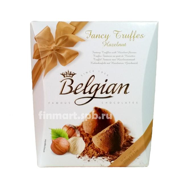 Belgian Hazelnut Cocoa Dusted Truffles