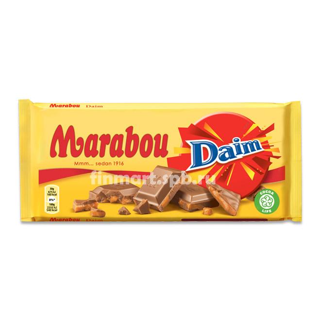 Молочный шоколад Marabou Daim - 200 гр.