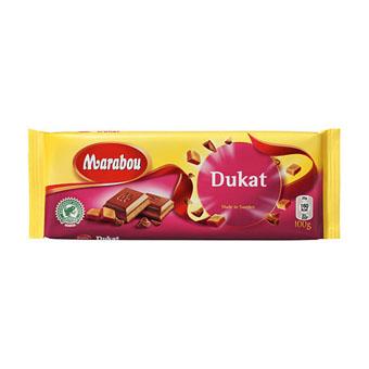 Молочный шоколад Marabou Dukat (Марабу с нугой) - 200 гр.
