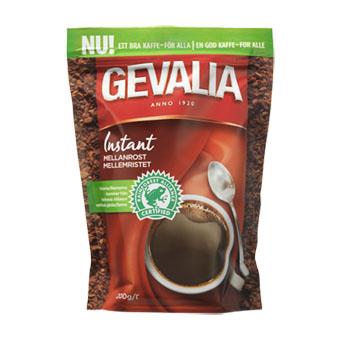 Растворимый кофе Gevalia instant mellanrost - 200 гр.