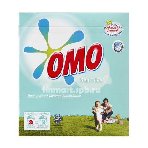Стиральный порошок OMO Sensitive (ОМО гипоаллергенный) - 1,26 кг.