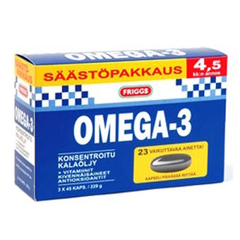 Витамины Friggs Omega-3 - 3 по 45 шт.