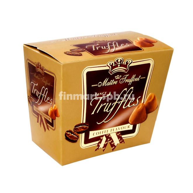 Шоколадные трюфели Maitre Truffout Coffee - 200 гр.