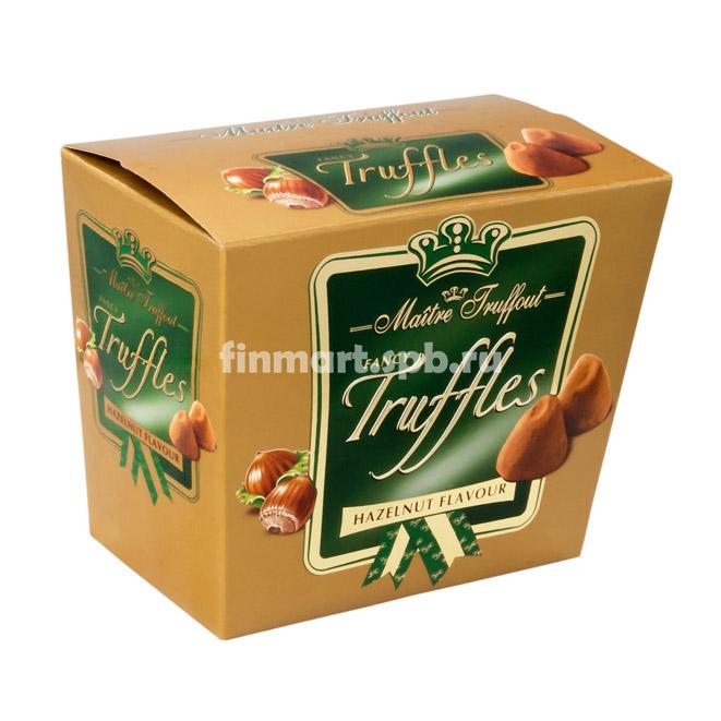 Шоколадные трюфели Maitre Truffout Hazelnut - 200 гр.