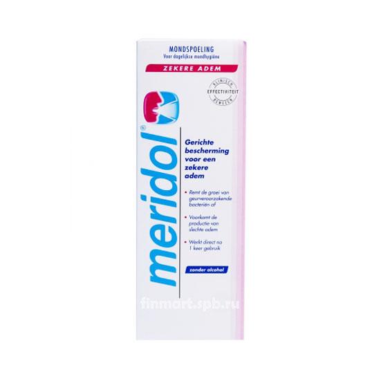 Ополаскиватель для рта Meridol zekere adem - 400 мл.