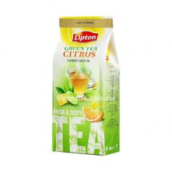 Зелёный чай Lipton Green Tea Citrus (апельсин,лимон грейпфрут) - 150 гр.