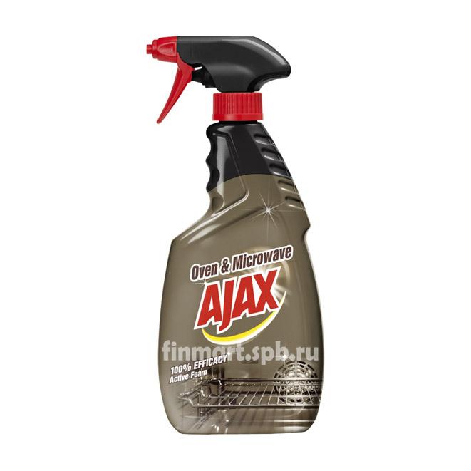 Средство для чистки духовки и микроволновой печи Ajax Oven & Microwave - 500 мл.