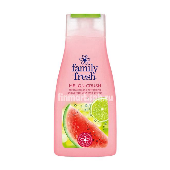 Гель для душа Family Fresh Melon crush - 500 мл.