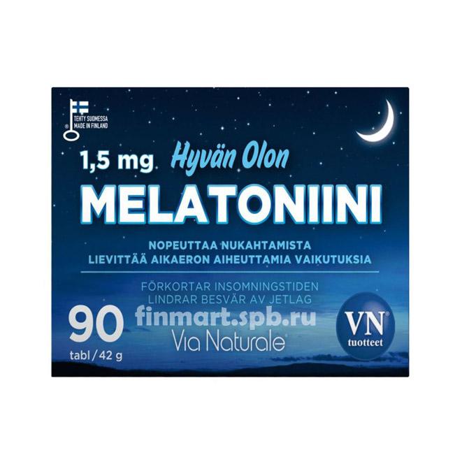 Витамины для улучшения сна Melatoniini - 90 таб.