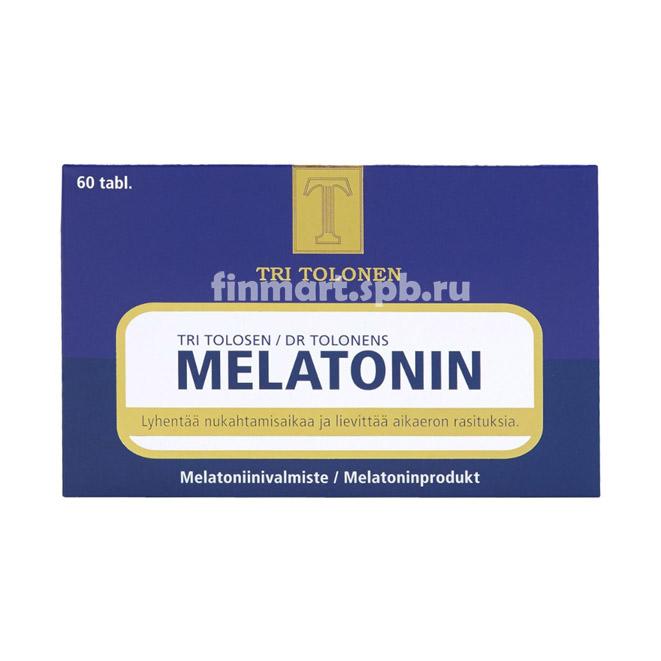 Витамины для улучшения сна Melatonin - 60 таб.