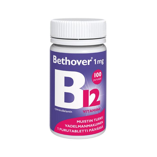 Витамины Bethover B12 - 100 шт.