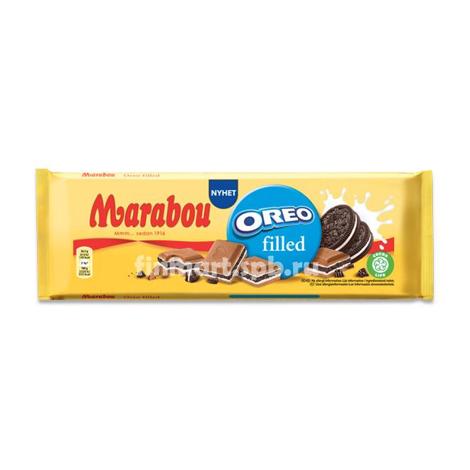 Молочный шоколад Marabou Oreo filled - 200 гр.
