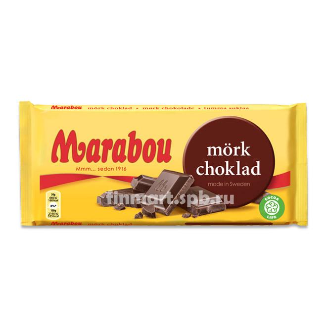 Темный шоколад Marabou mork choklad - 200 гр.
