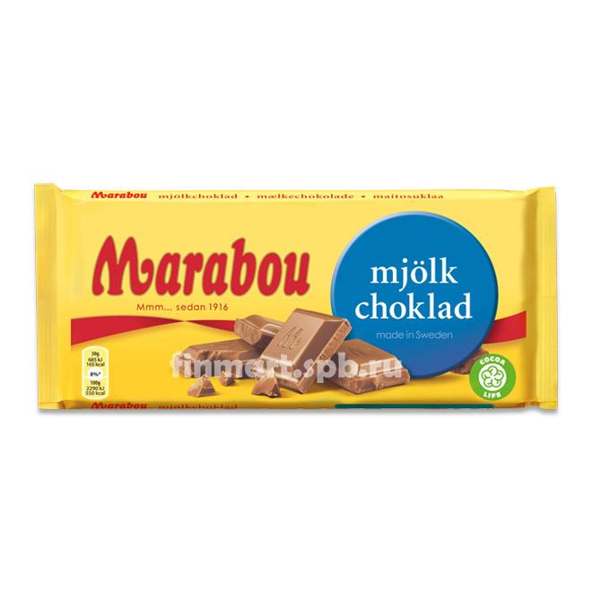 Молочный шоколад Marabou mjolk choklad (Марабу) - 200 гр.