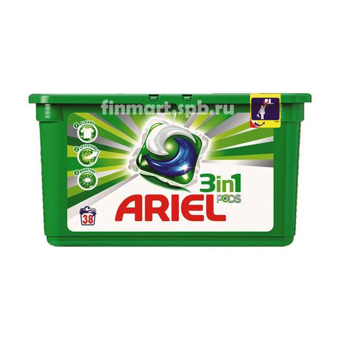 Капсулы для стирки Ariel Pods 3in1 - 38 таб.