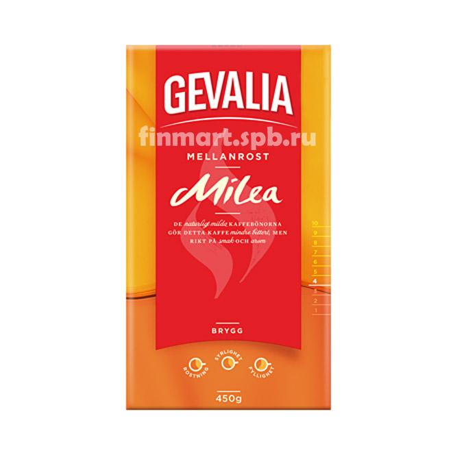 Кофе молотый Gevalia Milea - 450 гр.