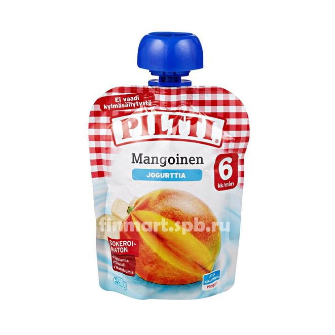 Фруктовый йогурт Piltti (Манго) - 90 гр.