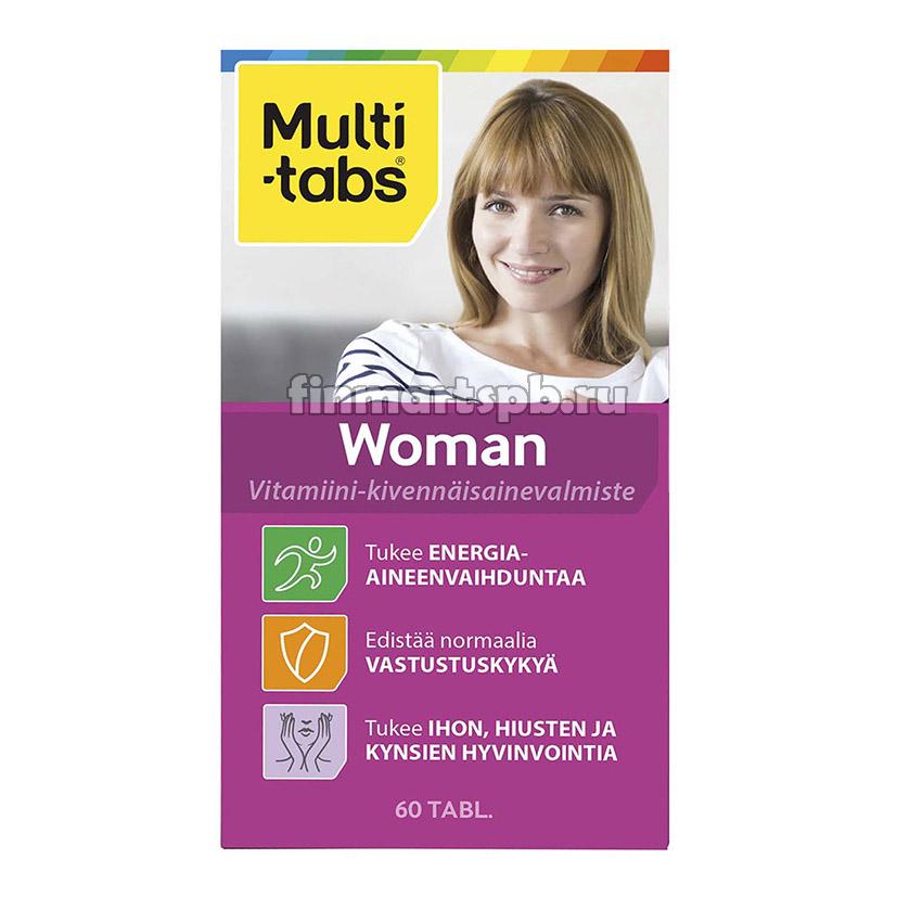 Комплекс витаминов Multi-Tabs Women - 60 шт.