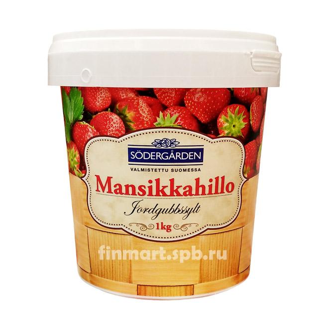 Варенье клубничное Sodergarden Mansikkahillo - 1 кг.
