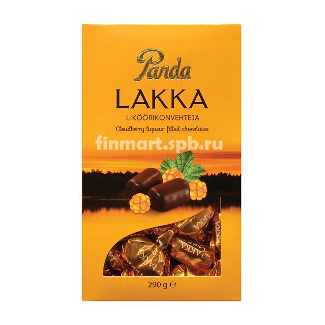 Шоколадные конфеты Panda Lakka (морошковый ликер) - 290 гр.