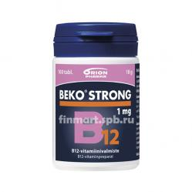 Витамины Beko Strong B12 - 100 шт.