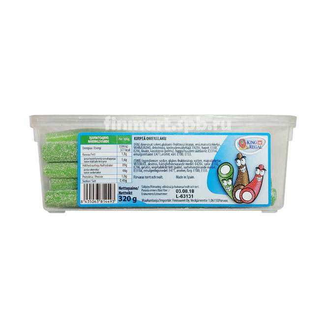 Жевательные карандаши King Regal (вкус яблока) - 320 гр.