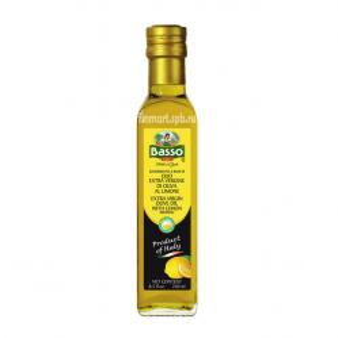 Оливковое масло Basso (c лимоном) - 250 мл.