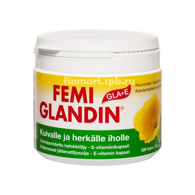 Femi Glandin GLA+E - 300 капсул.