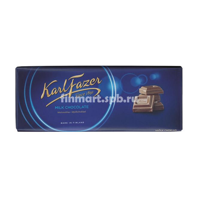 Молочный шоколад Karl Fazer Milk Chokolate - 200 гр.