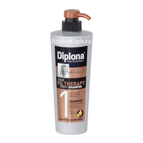 Шампунь Diplona Oil therapy (1) Profi shampoo - 600 мл.
