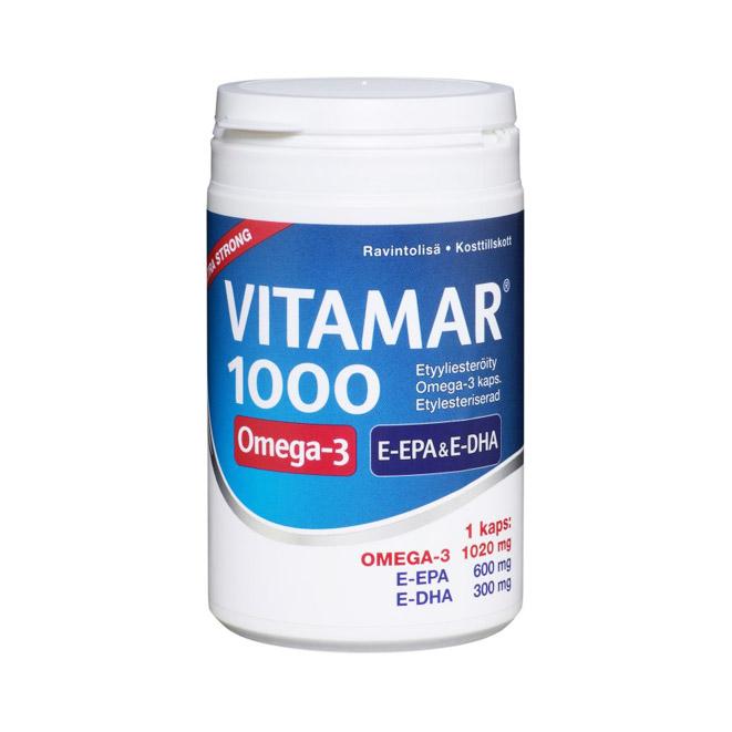 Vitamar 1000 Omega-3 - 100 капсул.