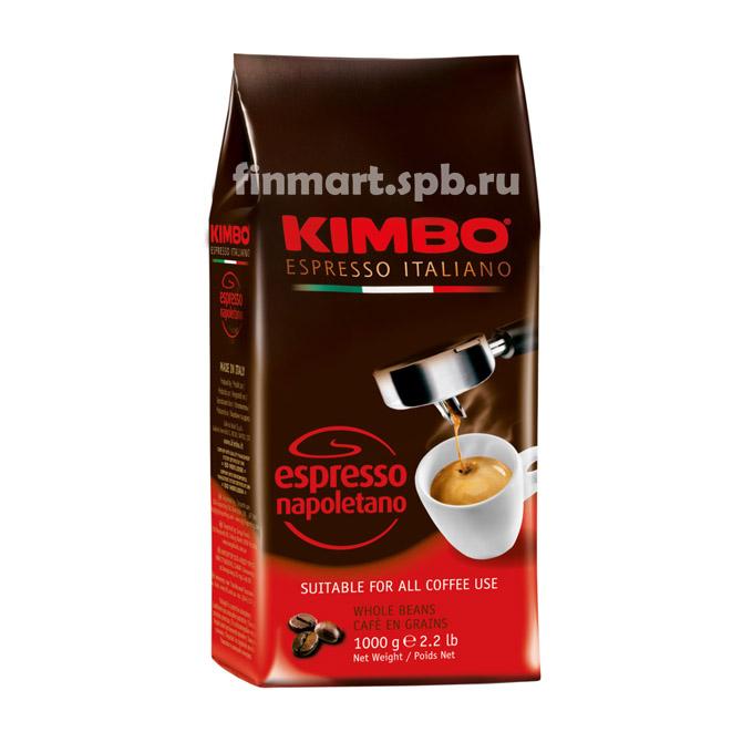 Кофе в зёрнах Kimbo Espresso napoletano - 1 кг.