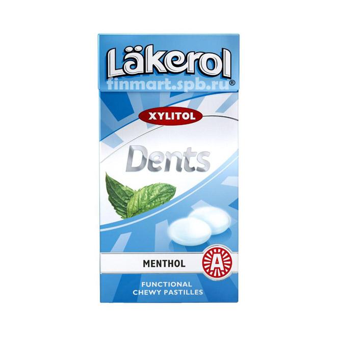 Пастилки жевательные Lakerol Dents menthol - 30 гр.