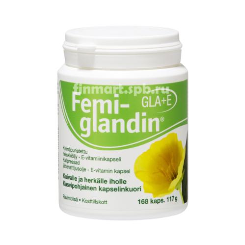FemiGlandin GLA+E - 168 капсул.