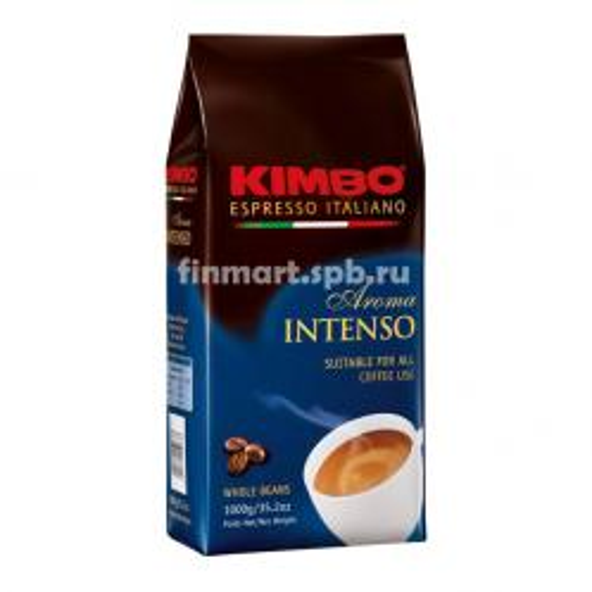 Кофе в зёрнах Kimbo Aroma Intenso - 1 кг.