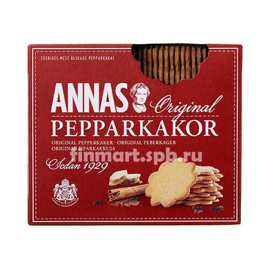 Печенье имбирное ANNAS original pepparkakor - 300 гр.