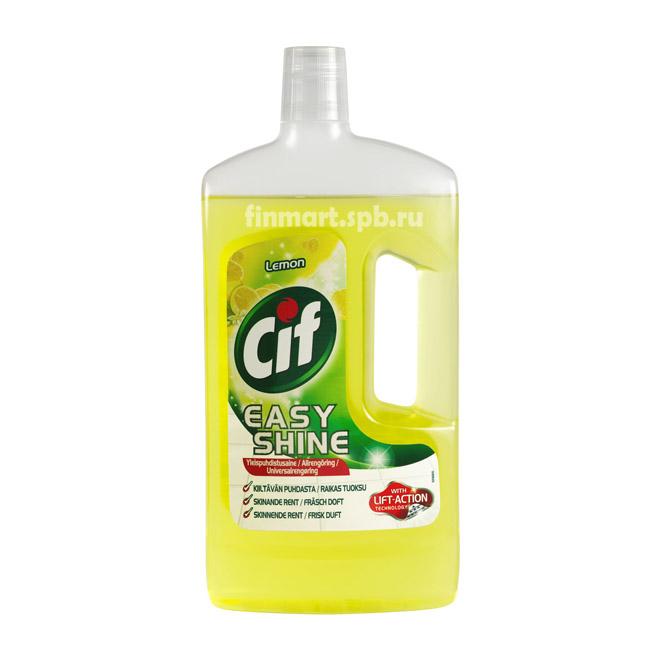 Универсальное средствоe для уборки Cif Easy shine Lemon - 1000 мл.