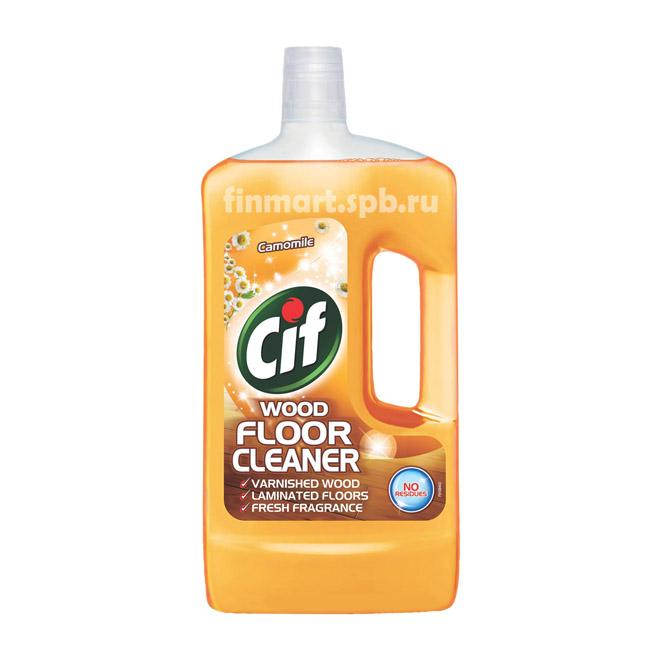 Средствоe для уборки пола Cif wood floor cleaner - 1000 мл.