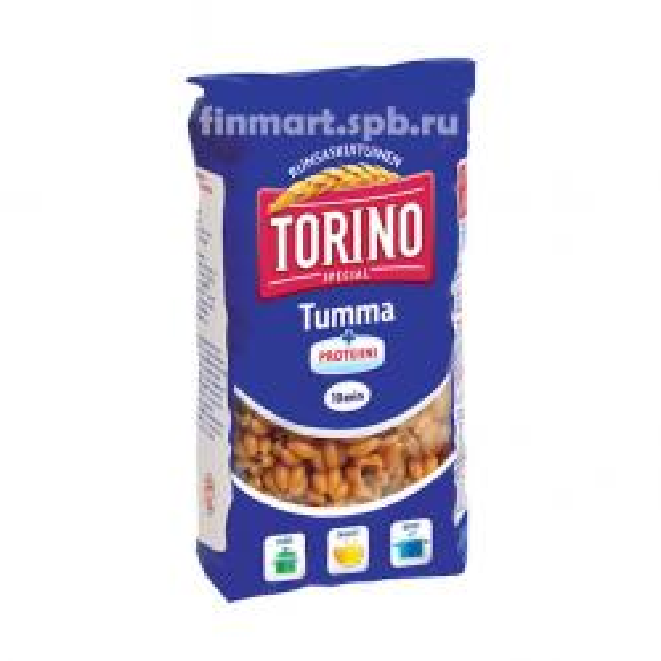 Макароны Torino Tumma + Proteiini - 500 гр.