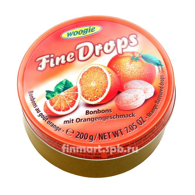 Леденцы Woogie Fine Drops (Апельсин) - 200 гр.