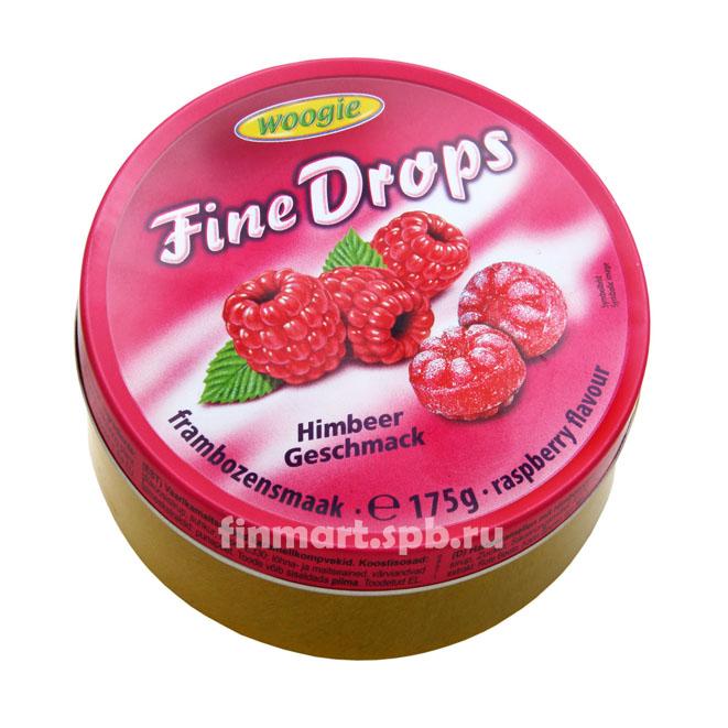 Леденцы Woogie Fine Drops (Малина) - 175 гр.