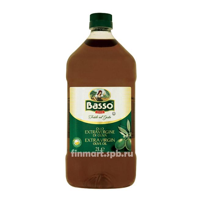 Оливковое масло Basso olio di sansa di oliva - 2 л.
