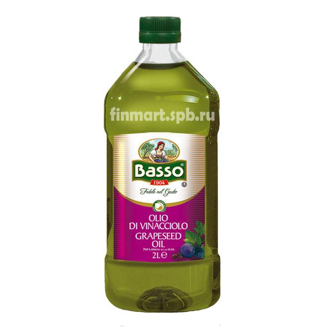 Виноградное масло Basso olio di vinacciolo grapeseed oil - 2 л.