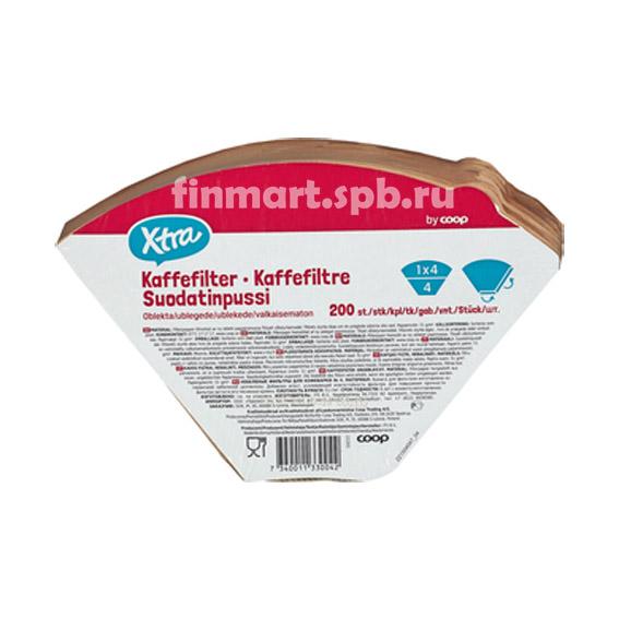 Фильтры для кофеварок X-tra 1/4 - 200 шт.